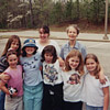 Mom with the troop of Awana girls at Brook Highlands Community Church ... click for a larger version of this image.